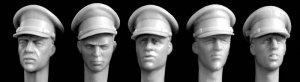Cabezas de oficiales Britanicos  (Vista 1)
