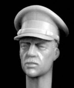 Cabezas de oficiales Britanicos  (Vista 2)