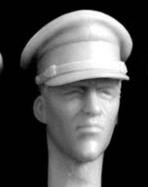 Cabezas de oficiales Britanicos  (Vista 5)