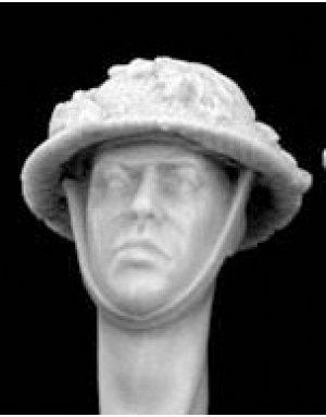 Cabezas Britanicas con cascos camuflaje  (Vista 2)