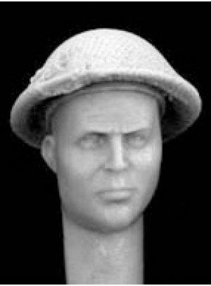 Cabezas Britanicas con cascos camuflaje  (Vista 4)
