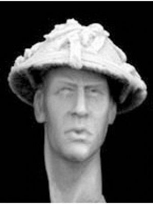 Cabezas Britanicas con cascos camuflaje  (Vista 5)
