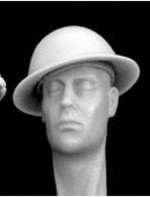 Cabezas Britanicas con cascos camuflaje  (Vista 6)