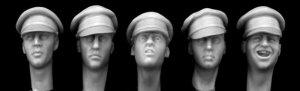 Cabezas británicos con gorra  (Vista 1)