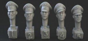 Cabezas Alemanas con gorra palto  (Vista 1)