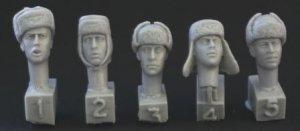 Cabezas Alemanas con gorras invernales  (Vista 1)