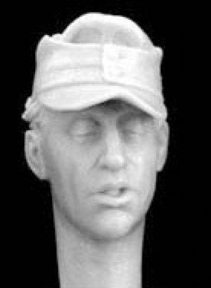 Cabezas Alemanes con gorra visera M.43  (Vista 2)