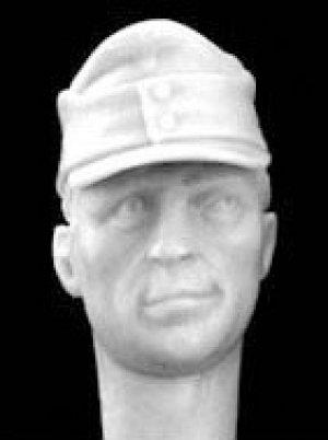 Cabezas Alemanes con gorra visera M.43  (Vista 3)