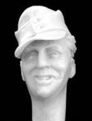 Cabezas Alemanes con gorra visera M.43  (Vista 4)