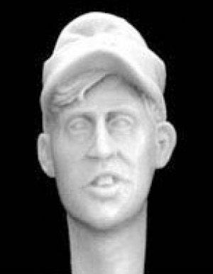 Cabezas Alemanes con gorra visera M.43  (Vista 5)