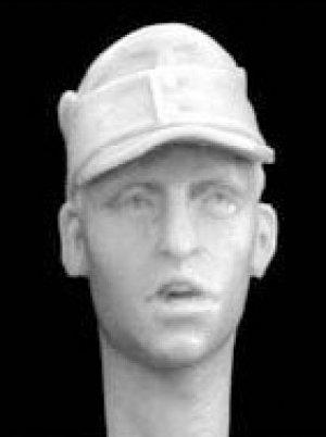 Cabezas Alemanes con gorra visera M.43  (Vista 6)