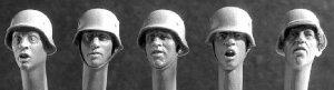 Cabezas con casco  (Vista 1)