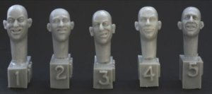 5 Cabezas riendo  (Vista 1)