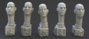 5 different bald heads  (Vista 1)