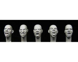 Cabezas gritando  (Vista 1)
