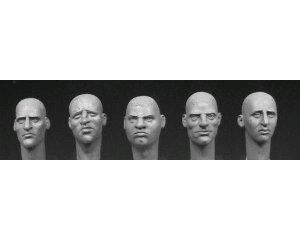 Cabezas con diferentes caras de Europa  (Vista 1)