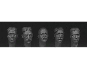 Cabezas con diferentes caras europeas co  (Vista 1)