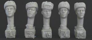 Cabezas Sovieticas con gorra  (Vista 1)