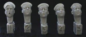 Cabezas con sombrero de marinero Marina  - Ref.: HNET-HUH05