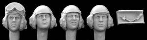 Cabezas con casco modernas  (Vista 1)