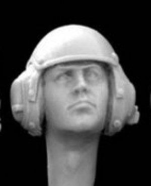 Cabezas con casco modernas  (Vista 3)