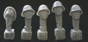5 cabezas, holandés/ Romanian cascos he  (Vista 1)