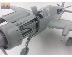 Luftwaffe Dornier Pfeil Do335 B-2 Zersto  (Vista 5)