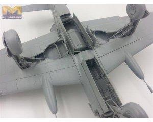 Luftwaffe Dornier Pfeil Do335 B-2 Zersto  (Vista 6)