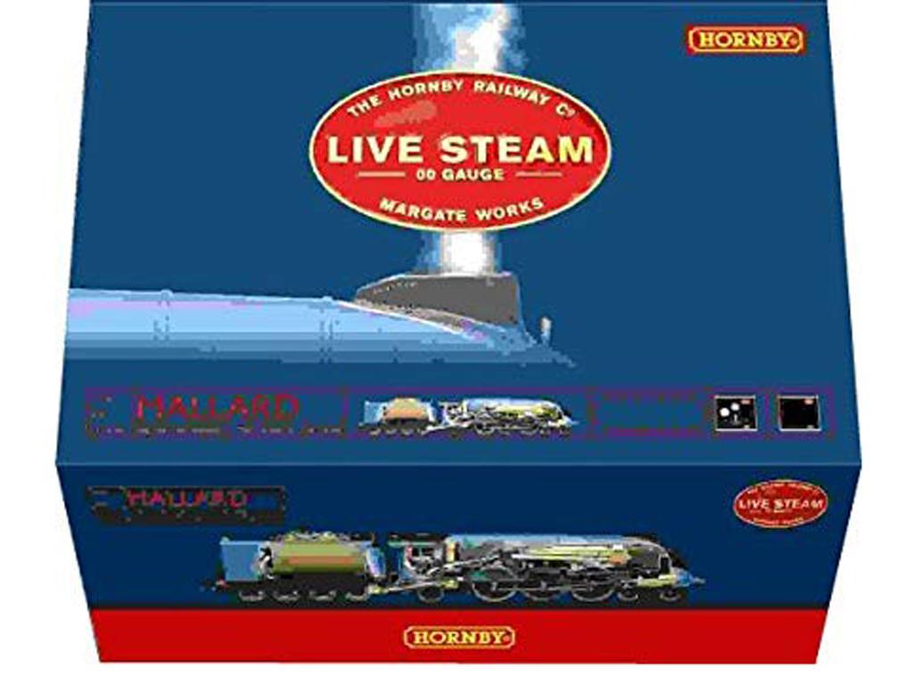 Locomotora LNER A4 Mallard (Vista 1)