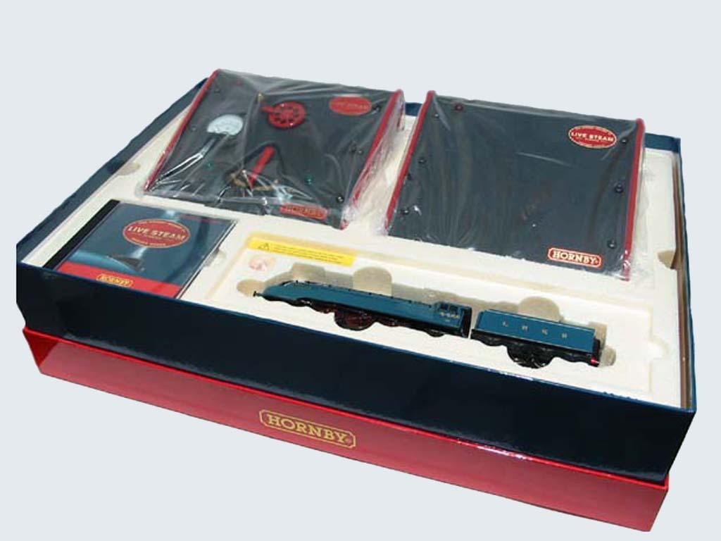 Locomotora LNER A4 Mallard (Vista 4)