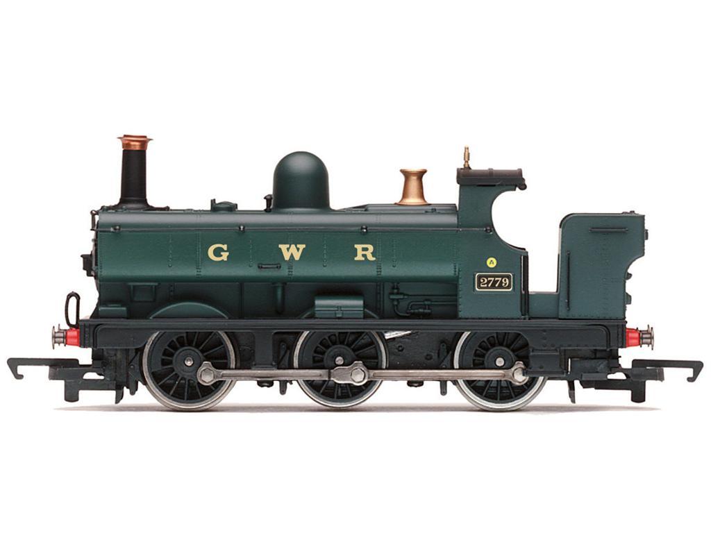 RailRoad GWR, 2721 Class, 0-6-0PT, 2779 - Era 3 (Vista 1)