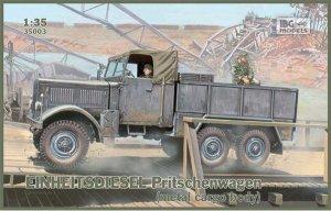 Camión Einheitsdiesel Kfz.61   (Vista 1)