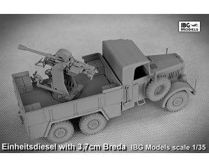 Einheitsdiesel with 3,7 cm Breda  (Vista 4)