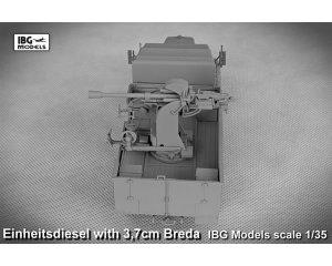 Einheitsdiesel with 3,7 cm Breda  (Vista 5)