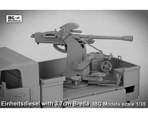 Einheitsdiesel with 3,7 cm Breda  (Vista 6)