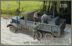 Einheitsdiesel with small field kitchen   (Vista 1)