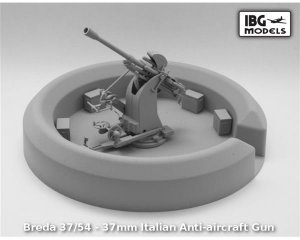 Breda 37/54 - 37mm Italian Anti-aircraft  (Vista 2)