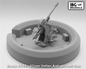 Breda 37/54 - 37mm Italian Anti-aircraft  (Vista 3)