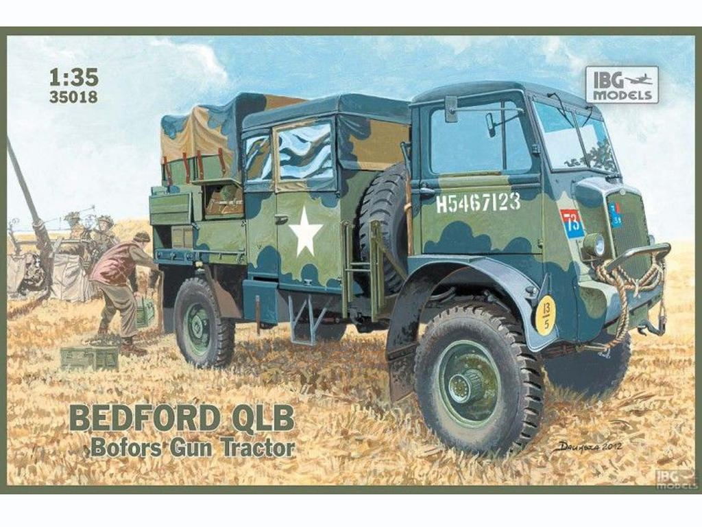 Bedford QLB - Bofors Gun Tractor - Ref.: IBGM-35018