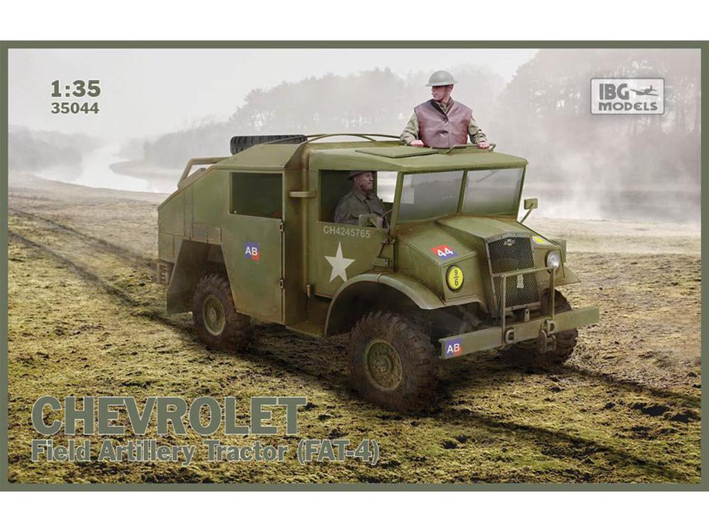 Chevrolet Field Artillery Tractor (FAT-4  (Vista 1)