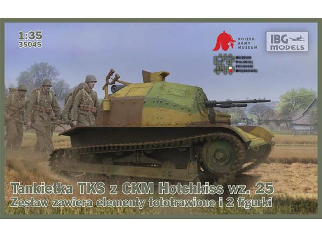 TKS Polish Tankette with machine gun  (Vista 1)