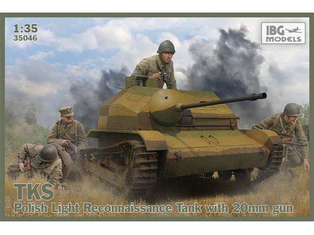 TKS Tankette with 20mm Gun  (Vista 1)