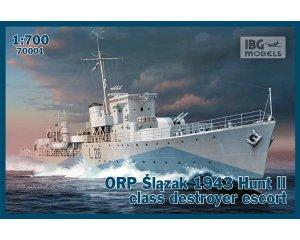 ORP Slazak 1943 Hunt II class destroyer   (Vista 1)