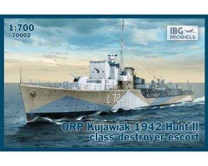 ORP Kujawiak 1942 Hunt II class destroye  (Vista 1)