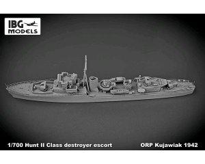 ORP Kujawiak 1942 Hunt II class destroye  (Vista 2)
