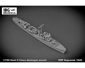 ORP Kujawiak 1942 Hunt II class destroye  (Vista 3)