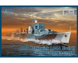 ORP Krakowiak 1944 Hunt II class destroy  (Vista 1)