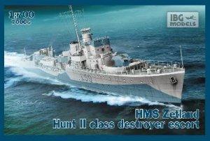 HMS Zetland 1942 Hunt II   (Vista 1)
