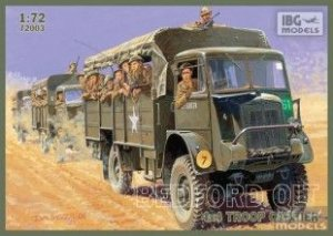 Bedford QLT Troop Carrier  (Vista 1)
