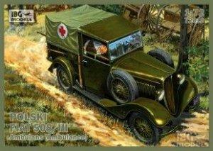 Polski FIAT 508/III Ambulance  (Vista 1)